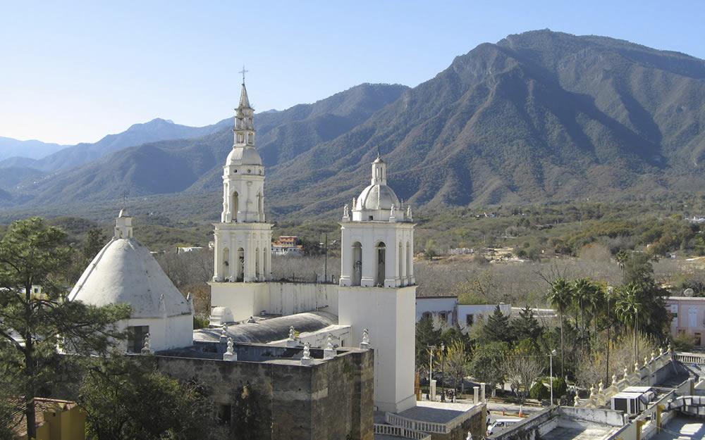 Town of Santiago Monterrey Mexico