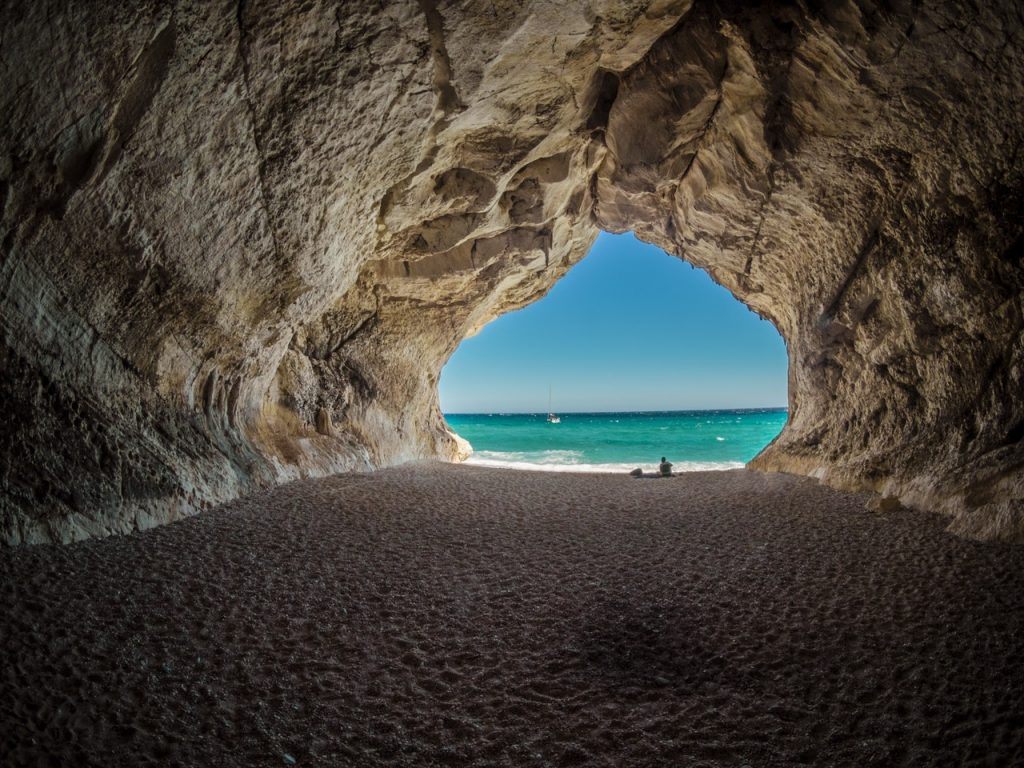 cave at the beach