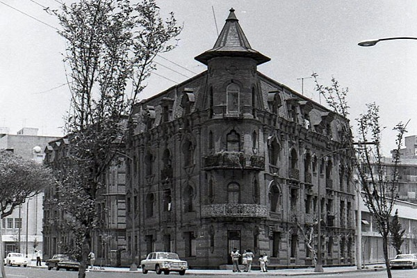 Old Houde in Mexico City