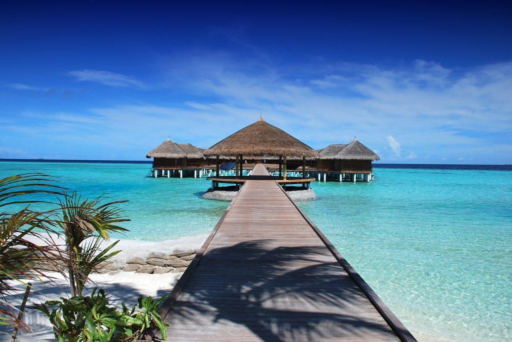 Luxury view of resort