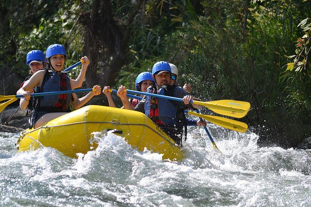 Rio Folobobo and rafting