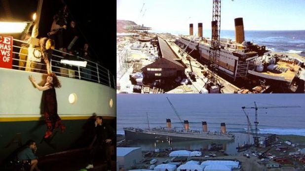 Titanic studios Baja California