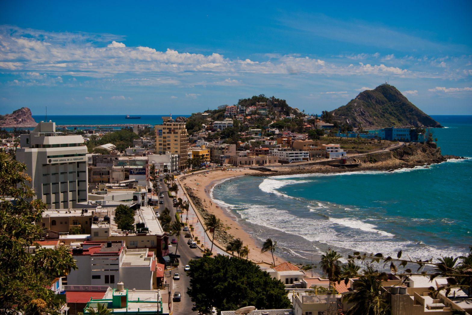 beach in Mazatlan in Mexico