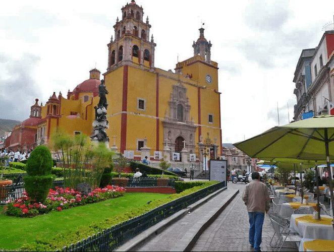 The basilica of Guanajuato