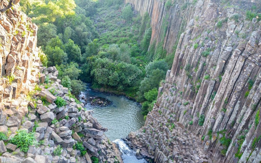 famous canyon of Santa Maria Regla