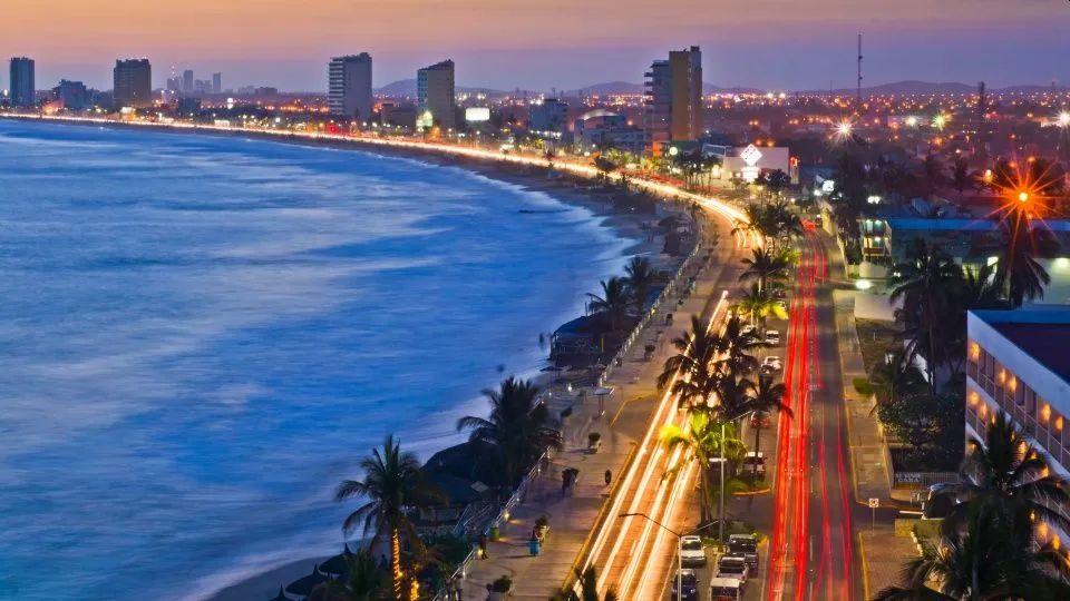 beach city in Mazatlan