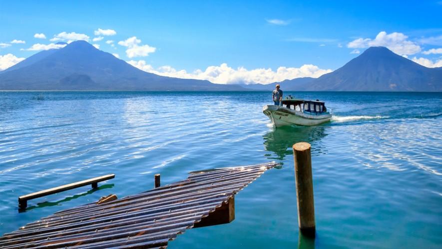 The magic lake of Guatemala