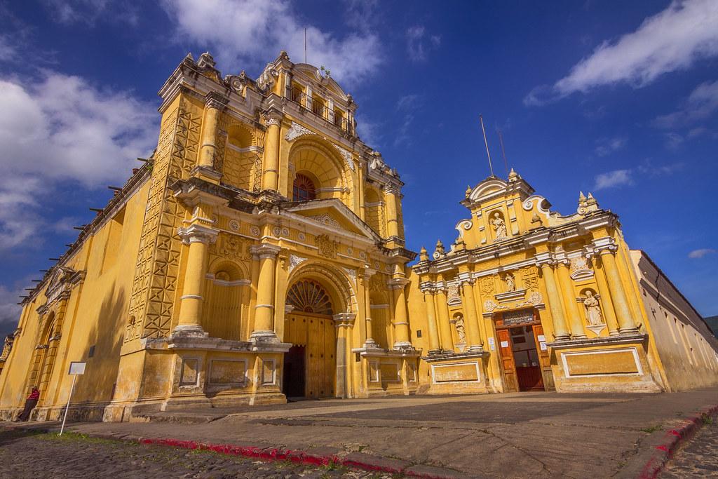 Iglesia de antigua Guatemala
