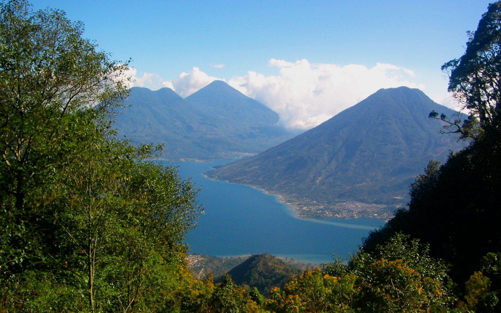 Guatemala lake.